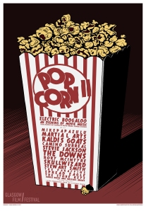 Popcorn II: Electric Boogaloo poster by Moonshake Design