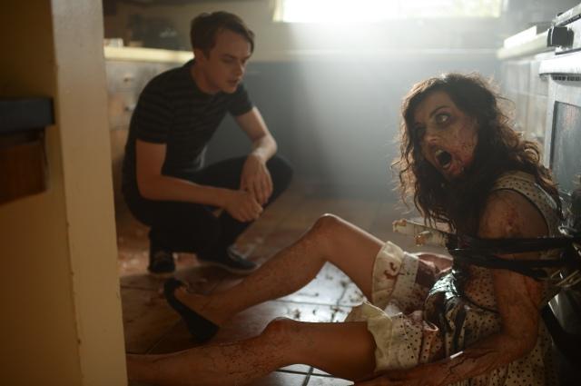 Dane de Haan and Aubrey Plaza in Life After Beth (dir Jeff Baena, 2014)
