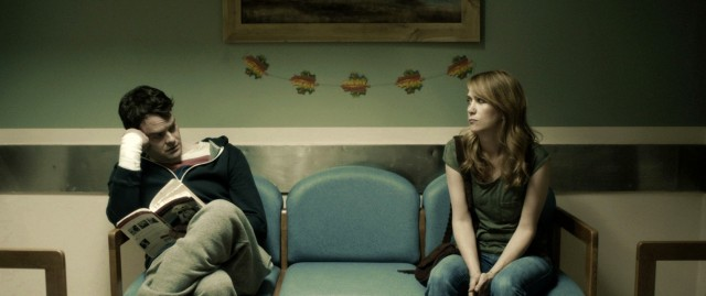 Bill Hader and Kristen Wiig in The Skeleton Twins (dir Craig Johnson, 2014)