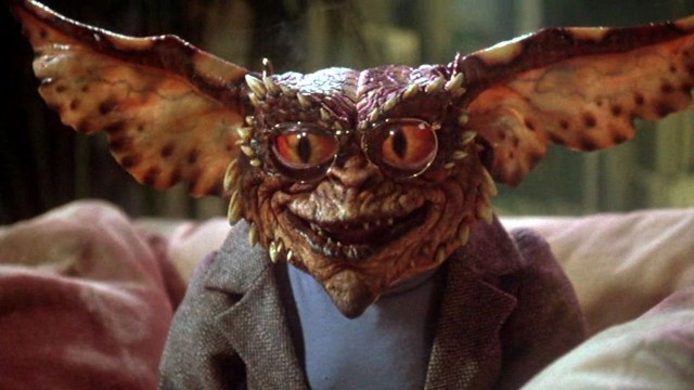 The Brain Gremlin in Joe Dante's Gremlins 2: The New Batch