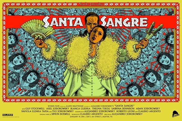 Santa Sangre poster by Florian Bertmer