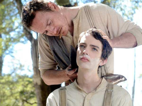 Silas (Michael Fassbender) and Jay (Kod Smit-McPhee)