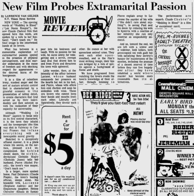 Original New York Times review