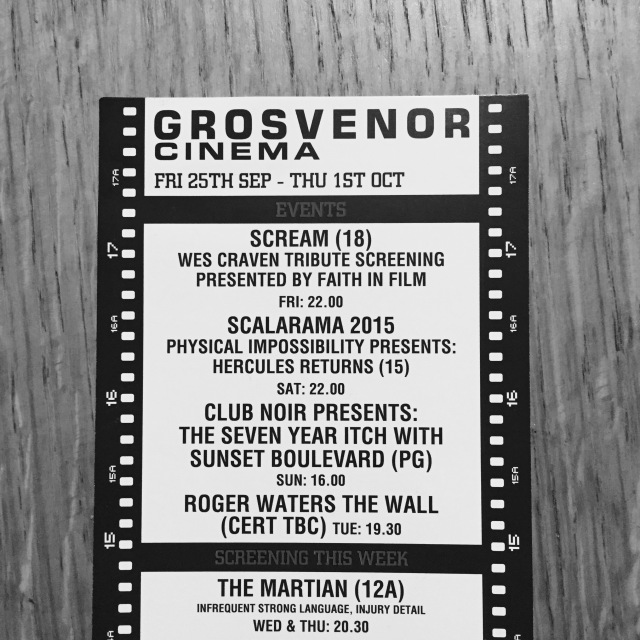 Grosvenor flyer.